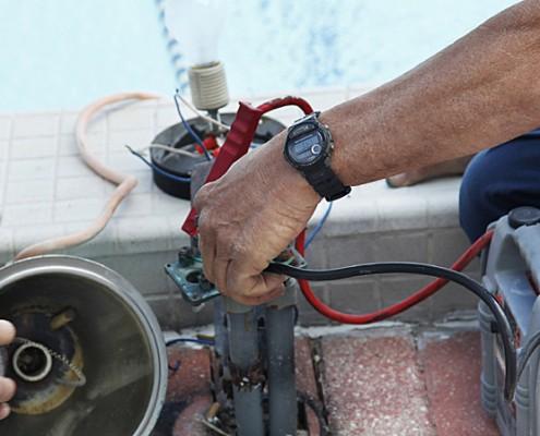 pool Spa electrical repairs