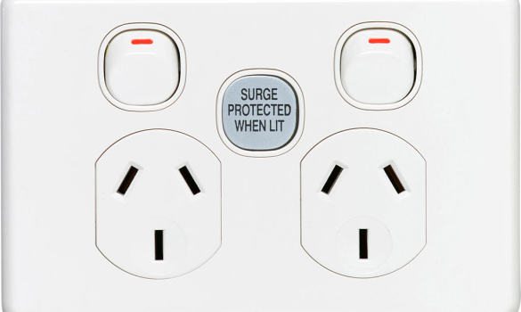 surge-protected-power-point Electrician Albany creek